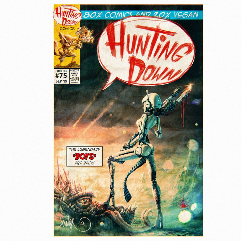Hunting Down Comics #57
