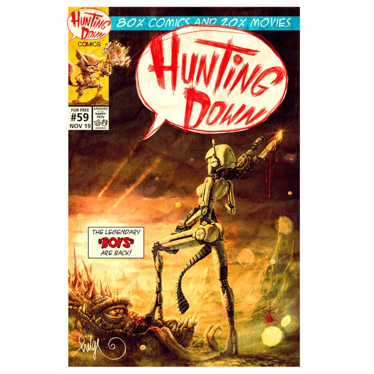 Hunting Down Comics #59
