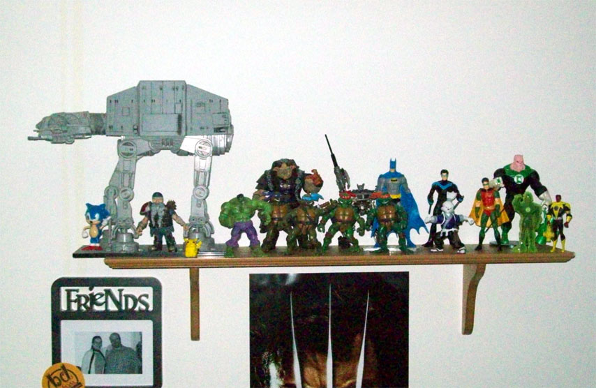 Living Room Shelf #1 - June 11th, 2009
