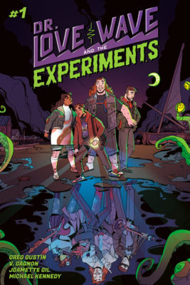 Cover of DR. LOVE WAVE AND THE EXPERIMENTS