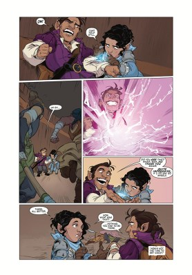 Page from Critical Role: Vox Machina Origins Series III issue 2