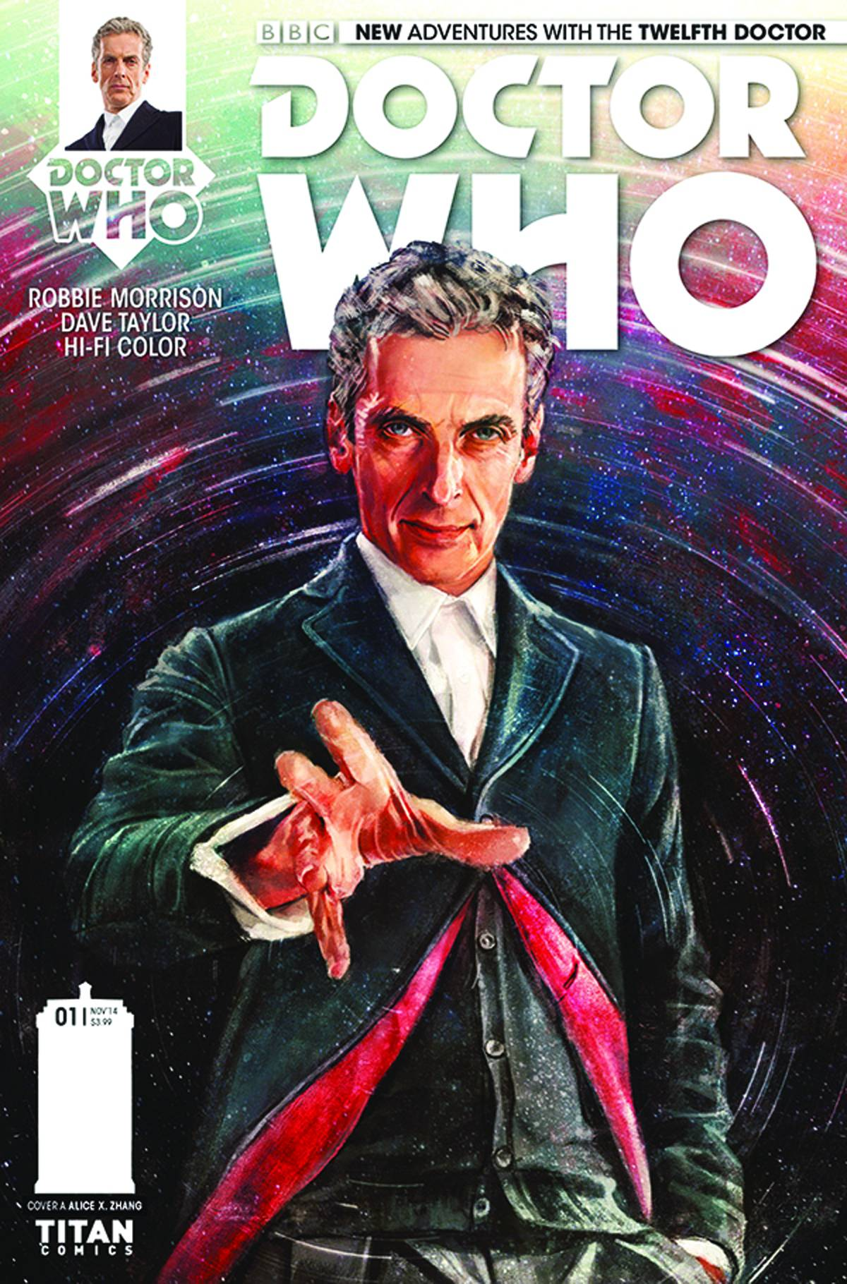 Doctor Who The Twelfth Doctor #1 (alice X Zhang Regular Cover), $399