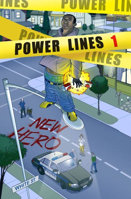 Power Lines #1 Cover