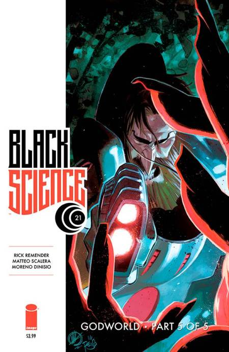 Black Science #21 Cover