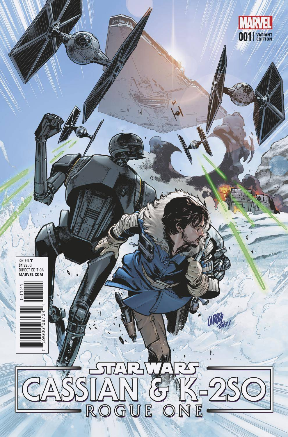 Marvel- 2017 Star Wars Doctor Aphra #10 Cover B Variant 40th Anniversary