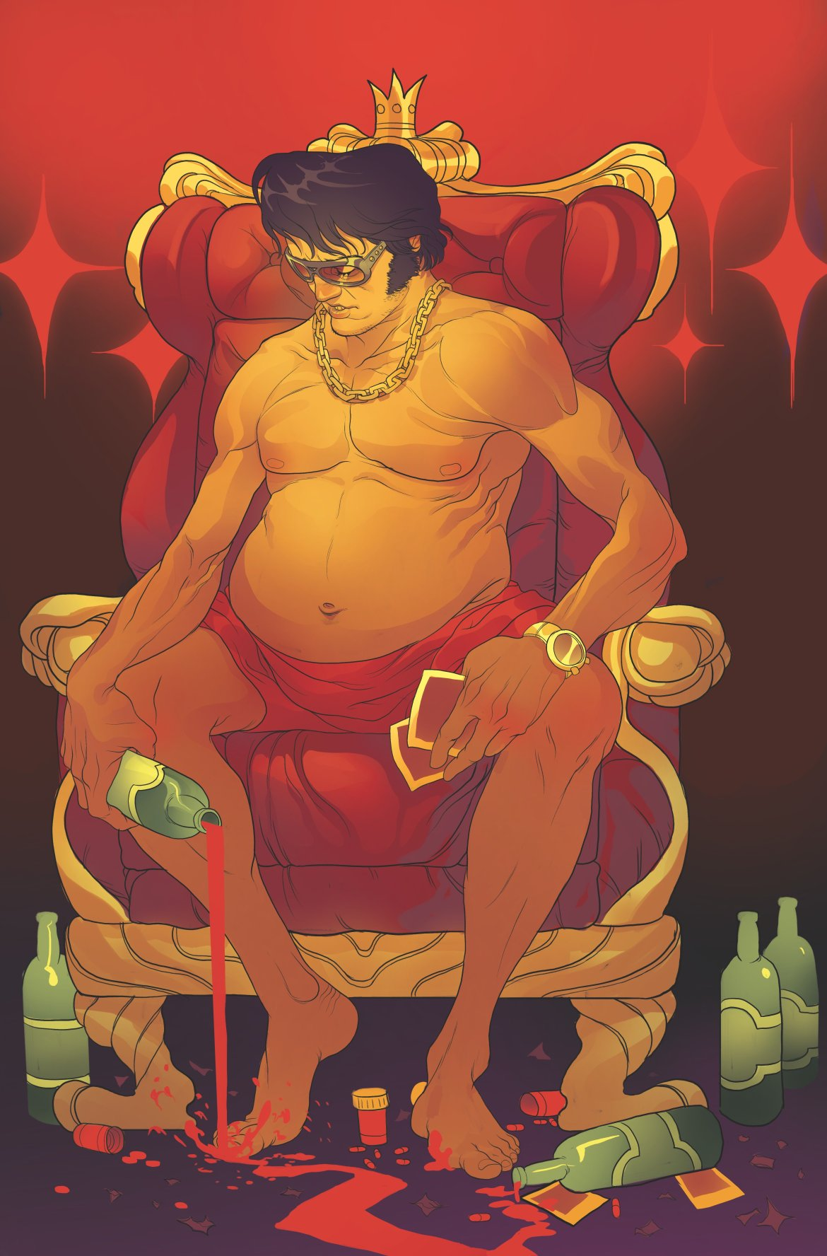 719056_bubba-ho-tep-cosmic-blood-suckers-1 ComicList: IDW Publishing New Releases for 05/16/2018