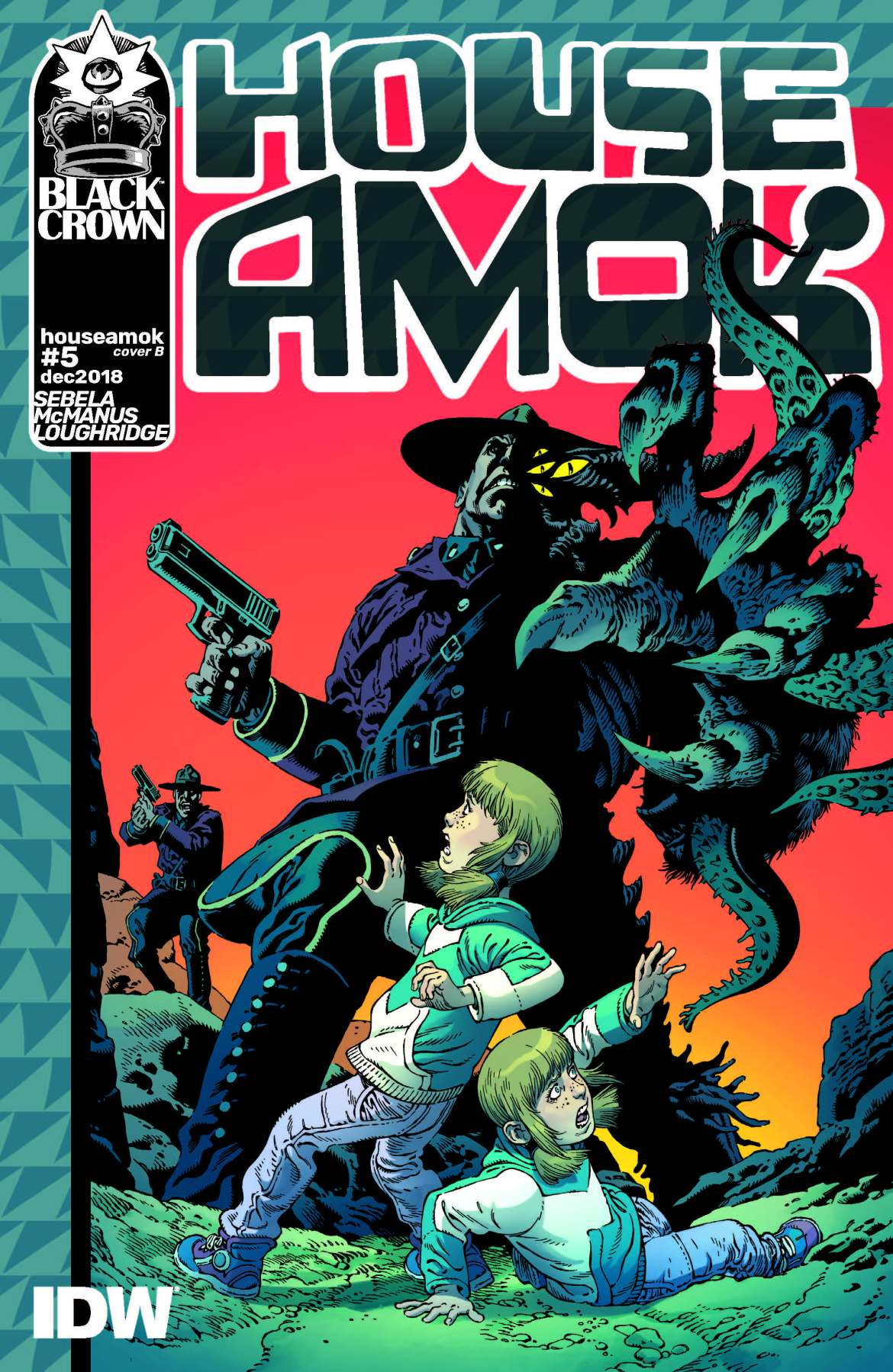 745514_house-amok-5-cover-b-rodriguez ComicList: IDW Publishing New Releases for 03/13/2019