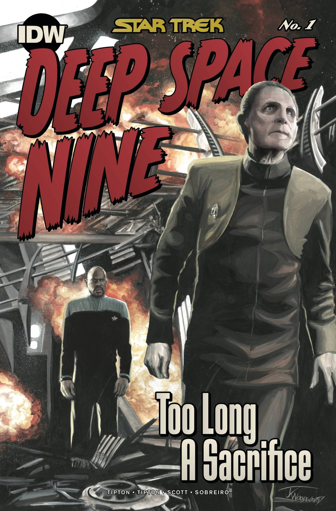 787831_star-trek-ds9-too-long-a-sacrifice-1-10-copy-cover-woodward ComicList: IDW Publishing New Releases for 07/15/2020