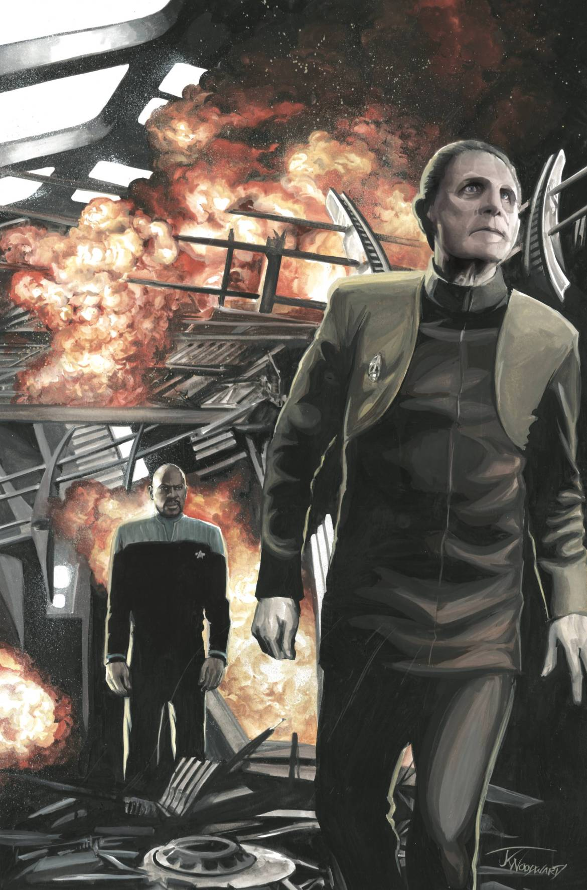 787832_star-trek-ds9-too-long-a-sacrifice-1-25-copy-cover-woodward ComicList: IDW Publishing New Releases for 07/15/2020