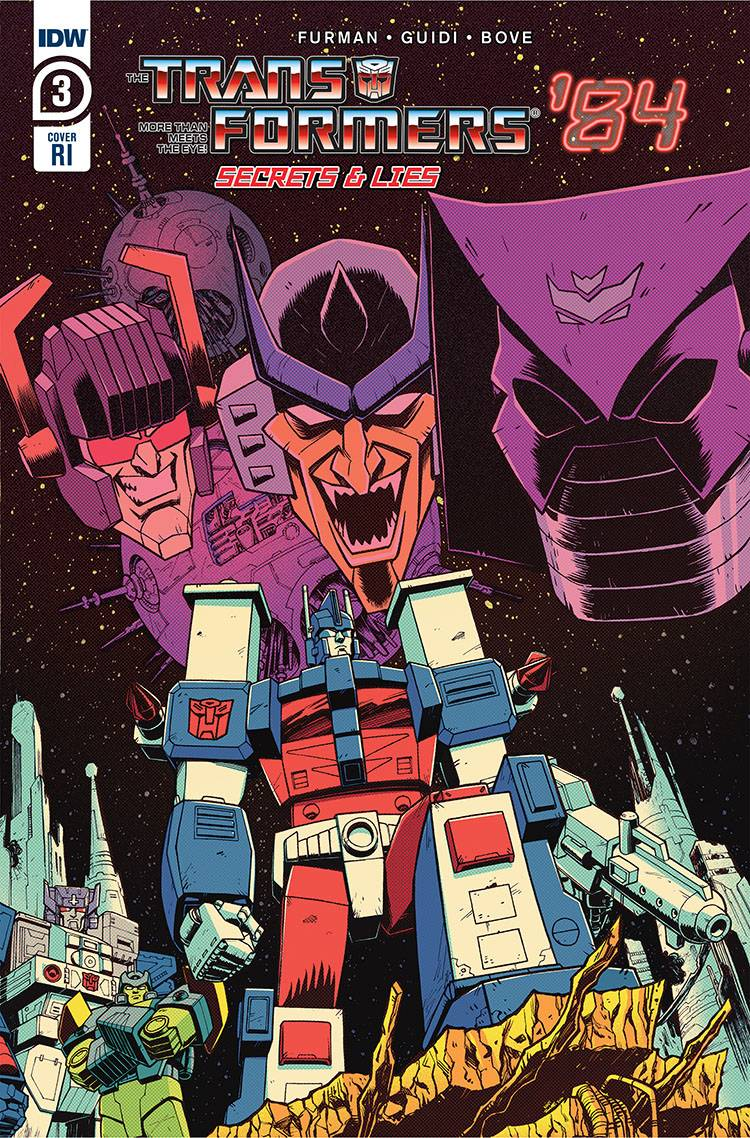 790150_transformers-84-secrets-and-lies-3-10-copy-cover-roche ComicList: IDW Publishing New Releases for 09/02/2020