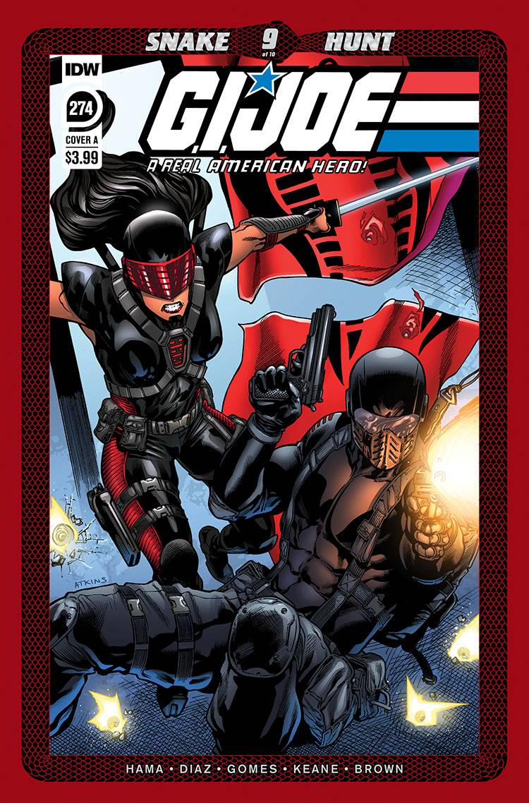 790556_g-i-joe-a-real-american-hero-274 ComicList: IDW Publishing New Releases for 09/09/2020