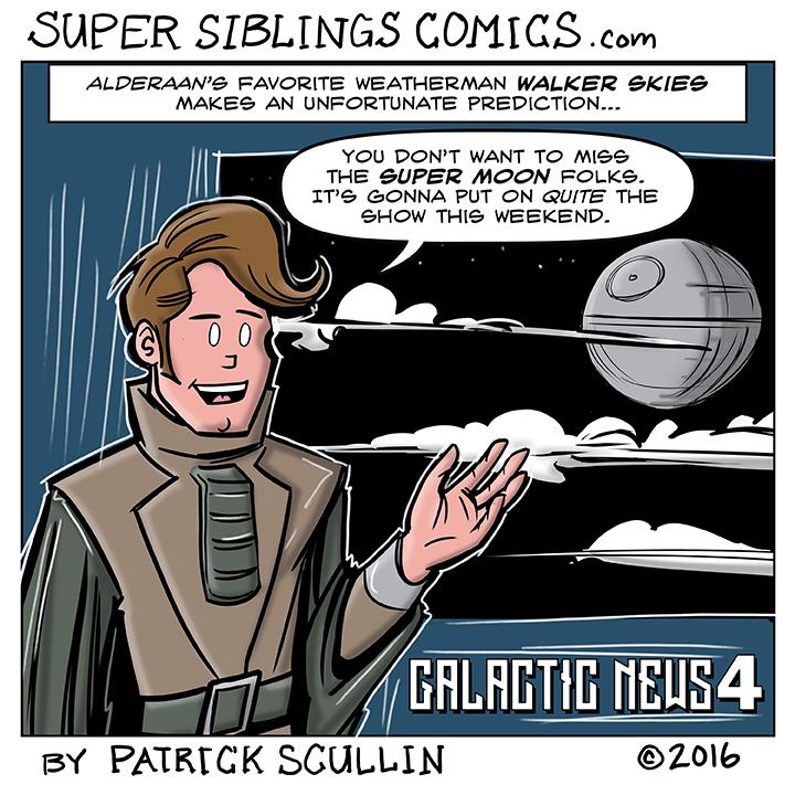 I Speak Nerd Comic Strip Alderaan Weather Report