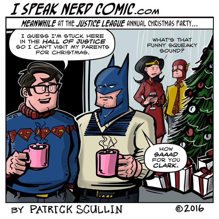 I Speak Nerd Comic Strip Christmas Family