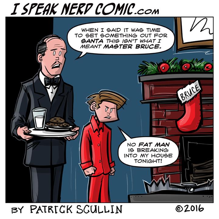 I Speak Nerd Comic Strip Christmas Trap