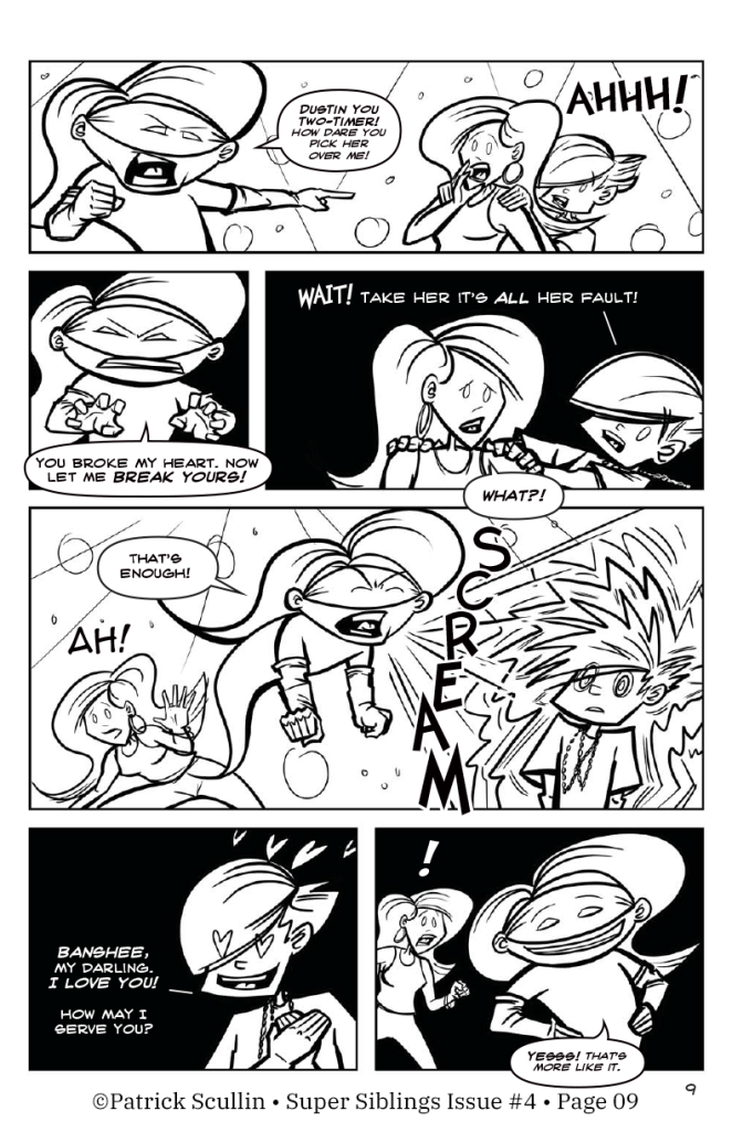 Super Siblings Issue 04 Page 09