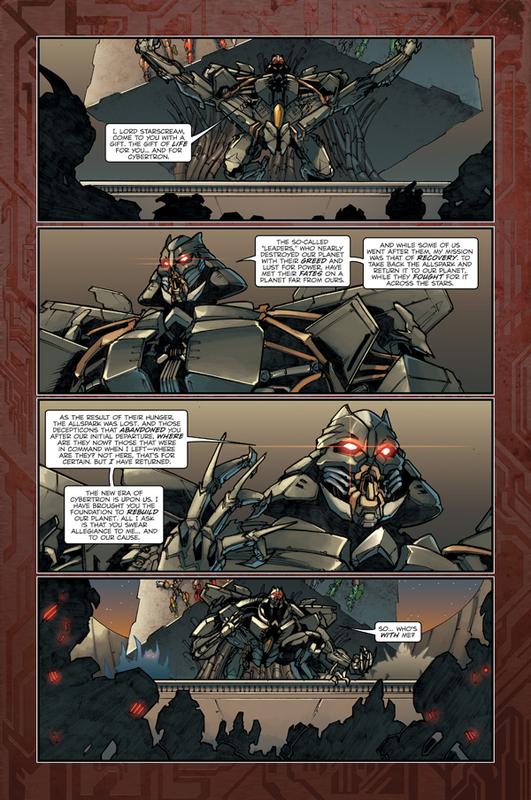Movie Reign of Starscream 5  Transformers Comics  TFW2005