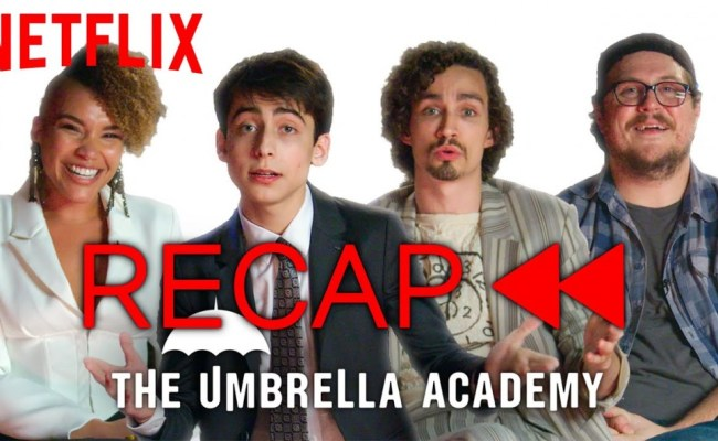 The Umbrella Academy Cast Recaps Season 1 To Get You