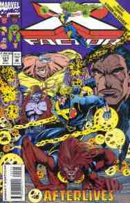 X-Factor comic book cover #101