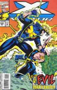 X-Factor comic book cover #104
