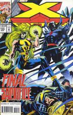 X-Factor comic book cover #105