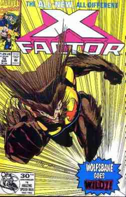X-Factor comic book cover #76