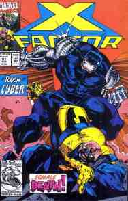 X-Factor comic book cover #81