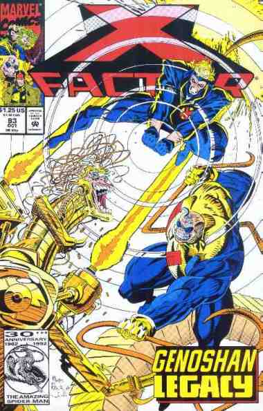 X-Factor comic book cover #83