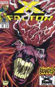 X-Factor comic book cover #89
