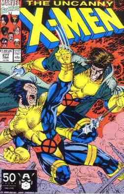 Uncanny X-Men comic book cover #277