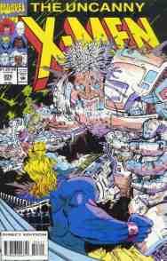 Uncanny X-Men comic book cover #306