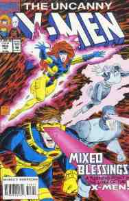 Uncanny X-Men comic book cover #308