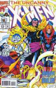 Uncanny X-Men comic book cover #315