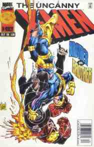 Uncanny X-Men comic book cover #339