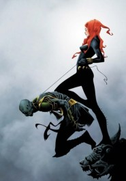 Black Widow color art by Jae Lee