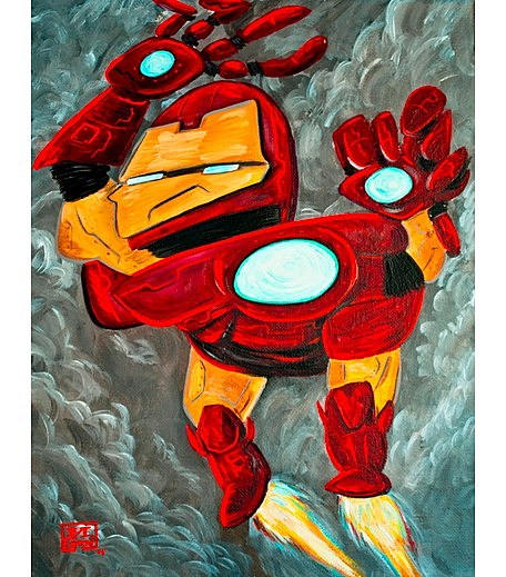 Cubist Superheroes: If Marvel and DC Were Drawn by Picasso