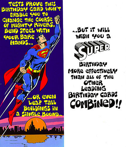 Superman & Friends Greet Fans In Hilarious Cards From 1978