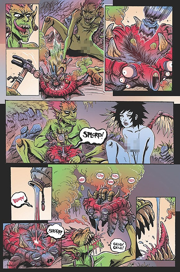Read the First Full Issue of Orc Stain A Gorgeous Comic that Looks Like a Beating Heart