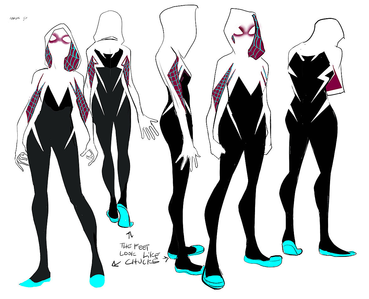 Spider Gwen Black Suit