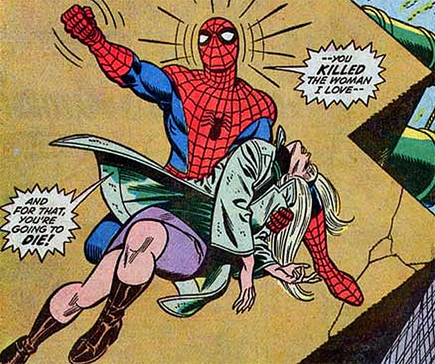 Image result for The Death of Gwen Stacy