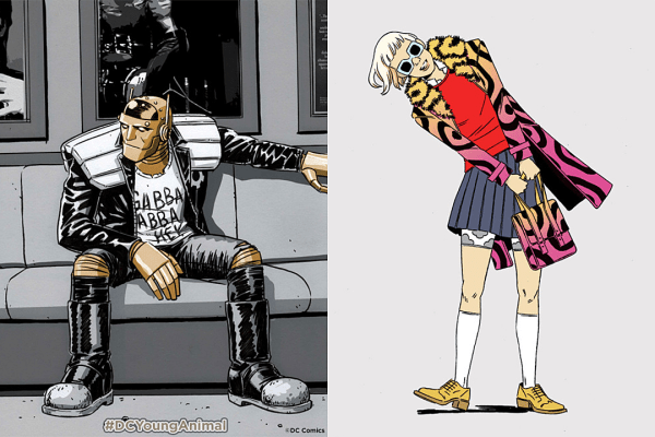 Gerard Way Unveils New Details About Young Animal at DC