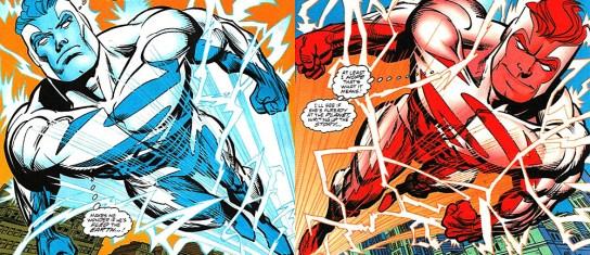 Resultado de imagem para Superman blue and red