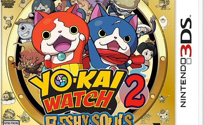 Set Aside Pokemon Go The Weird Yo Kai Watch 2 Is Coming