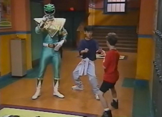 Mighty Morphin Power Rangers Karate Club