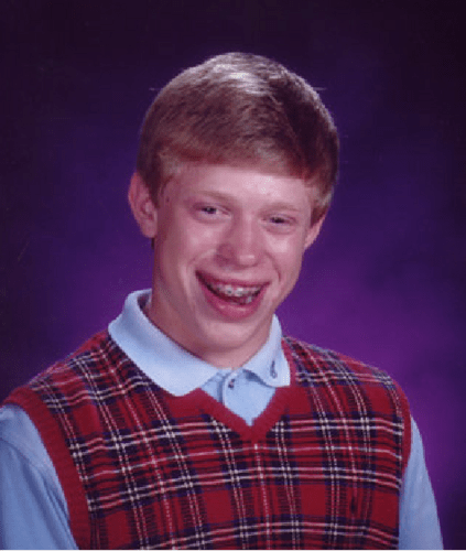 bad luck brian blank