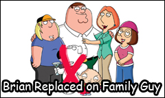 brian dead of family guy replaced