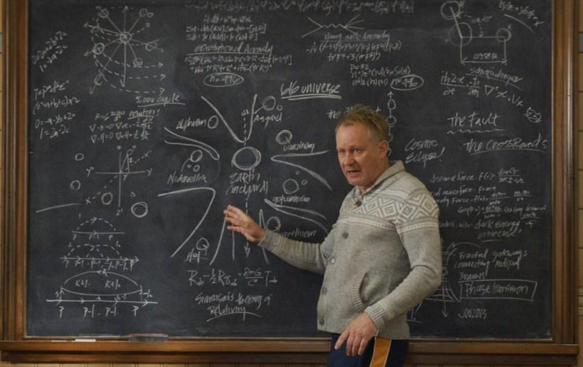 Thor: The Dark World - Marvel Secrets: Dr. Selvig's chalkboard