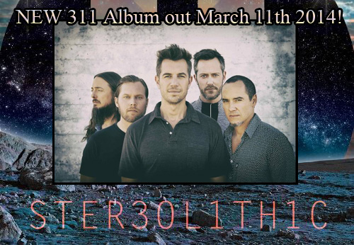311 stereolithic Five of Everything