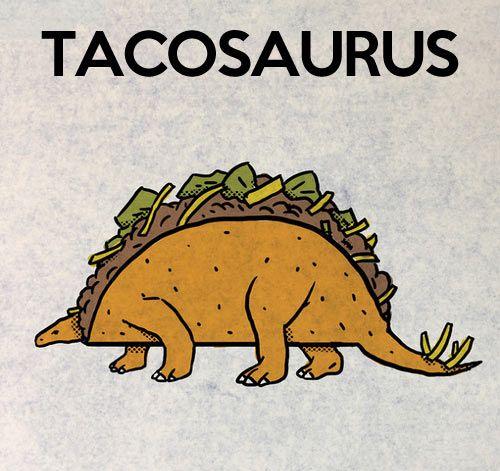 tacosaurus dinosaur meme