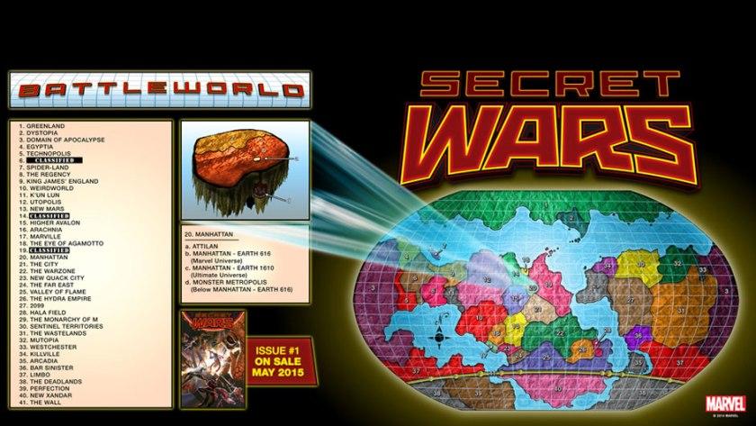Marvel Battleworld Secret Wars 2015