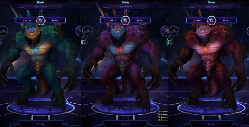 heroes storm Diablo skins kaijo